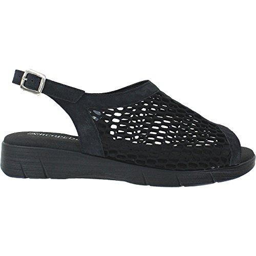 Arcopedico Womens Antalia P Black Sandal - 38