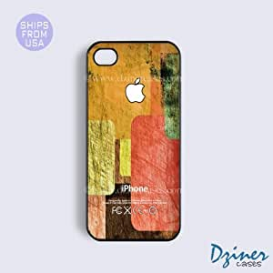 iPhone 6 Plus Tough Case - 5.5 inch model - Colorful Blocks Pattern iPhone Cover