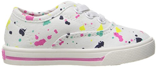 Carter's Piper Girl's Casual Sneaker, White/Print, 10 M US Toddler by Carter's (Image #7)