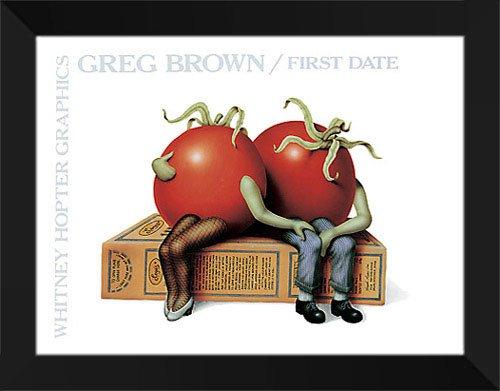 Art Print Greg Stocks - Greg Brown Framed Art Print 28x22