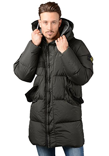 Stone Island Jacket - Mens 70223 Garment Dyed Crinkle Reps NY Down Jacket In Green (Mens Island Hoodie Stone)
