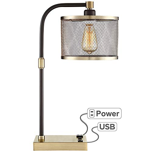 10 best desk lamp with outlet brass
