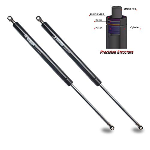 Damper Set Spring - Beneges 2PCs Universal Gas Charged Lift Supports Spring Struts Shocks Dampers Force 112 Lbs/500 N Per Prop, Force Per Set 224 Lbs/1000 N, Extended Length 20 inches