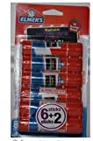 Elmer's Washable Disappearing Purple School Glue Sticks (2 packages) 8 sticks in each package