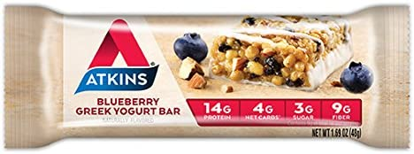 Atkins Protein-Rich Meal Bar, Almond Coconut, Keto Friendly, 5 Count
