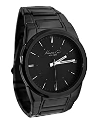 Kenneth Cole New York Black Stainless Steel Mens Watch KCW3008
