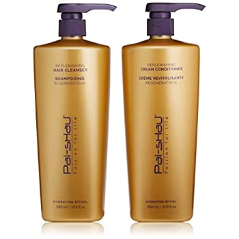 Image of Health and Household Pai-Shau Replenishing Cleanser and Conditioner Set
