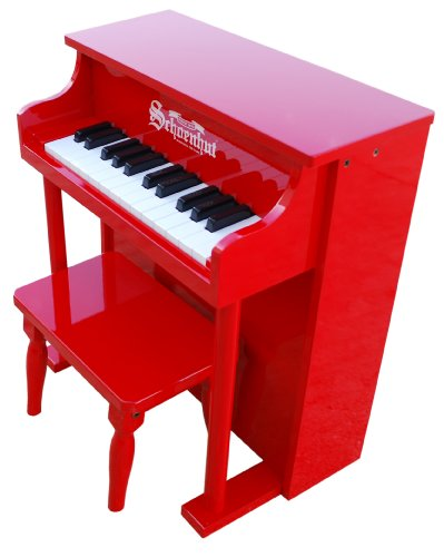 Schoenhut 25-key Traditional Spinet- Red