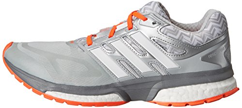 metallic Response Adidas Taille Onix light Chaussures White W Tech Fit Boost Silver d86pfAa6qw