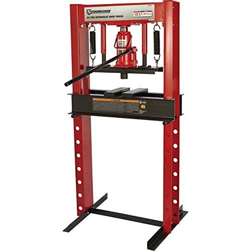Ton Hydraulic Shop Press - 8