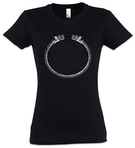 Urban Backwoods Viking Bracelet Women Girlie T-Shirt