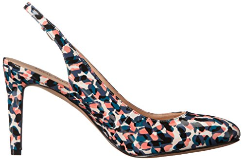 Nine West Women's Holiday Synthetic Dress Pump Synthetic Blue 7Fj6i3nL6P