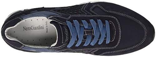 Nero Giardini P704901U, Zapatillas Deportiva Hombre Azul (200)