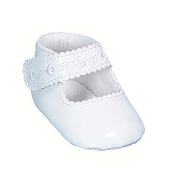 37c8277d9d09 Babyschuhe Taufschuhe Mädchen Festlich Weiß oder Champagner Neu (17,  Ivory). Baby Staab