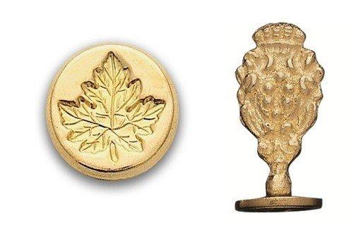 Leaf Wax - Brass Wax Seal Stamp - Maple Leaf 806H