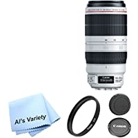 Canon EF 100-400mm f/4.5-5.6L IS II USM Lens Bundle
