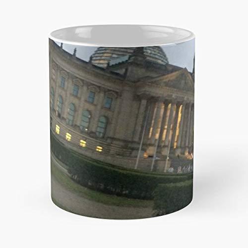 German Reichstag Berlin Bear History - Best Gift Ceramic Coffee Mugs