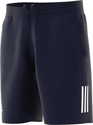 Mens Club Short - adidas Tennis Club 3 Stripes Shorts, Legend Ink, X-Large