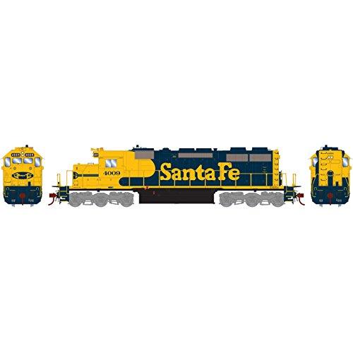 HO RTR SD39 SF #4009 (Athearn Ho Locomotives)