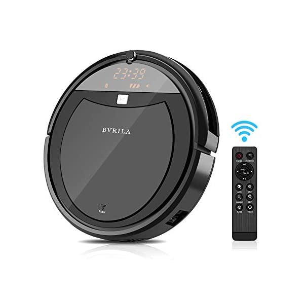 Robot Vacuum Cleaner, Powerful Suction Tangle-Free, Slim Design, Automatic Self-Charging...