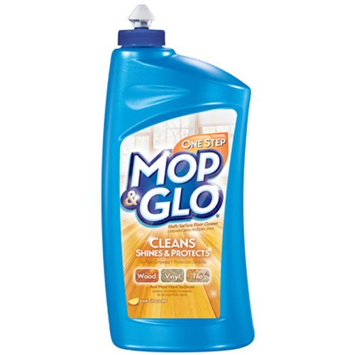 Mop & Glo - Multi-Surface Floor Cleaner  32 Ounce.(Pack of - Floor Mop & Glo