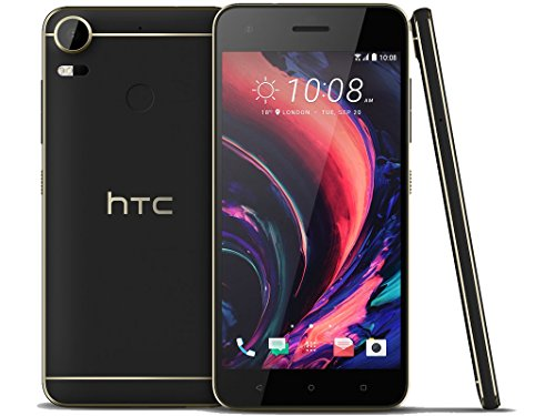 HTC Desire 10 lifestyle 3GB / 32GB 5.5-inches Factory Unlocked - International Stock No Warranty (Stone Black)