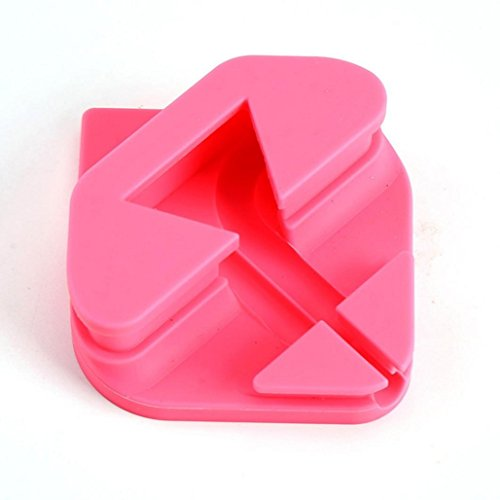 Price comparison product image Portable Silicagel Protective Cover Case Box Holder For Apple Airpods Headset , Tuscom Universal Mobile Phone Holder (Pink)