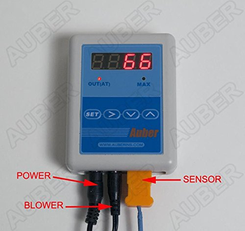 Temperature Controller for Weber Smokey Mountain/ Akorn (with 6.5 CFM blower) by Auber Instruments
