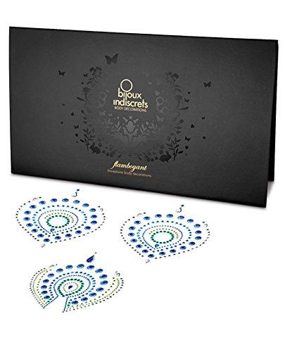 Bijoux Indiscrets Flamboyant Skin Jewelry - Green/Blue