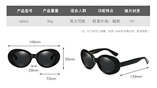 vintage style du Noir Cadre rond en polarisées inspirées lunettes métallique de retro Lennon cercle soleil xBq0wXZn4