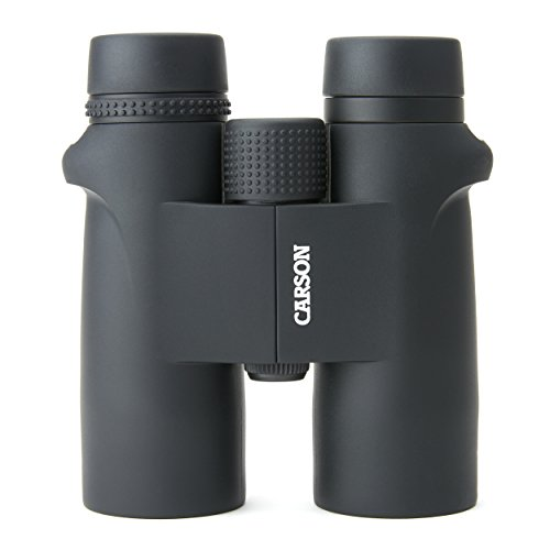 Carson VP Series Full Sized 10x42-mm Waterproof and Fog Proof Binoculars in Black (VP-042)
