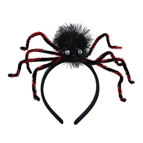 BESTOYARD Spider Headband Halloween Costume Headband for Costume Dress up Party Supplies (Random Color)
