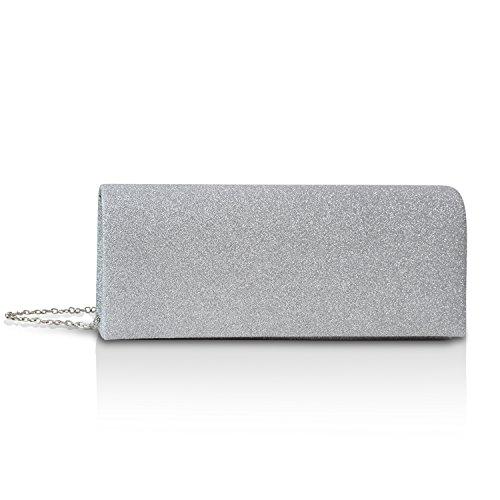 Mehrfarbig pour Silver multicolore femme GloopGloop Pochette 22007 nqIPYz