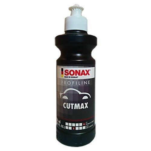 SONAX 246141-544 Profiline Cutmax - Abrasive Vehicle Paint Sanding Paste - 250ml Bottle