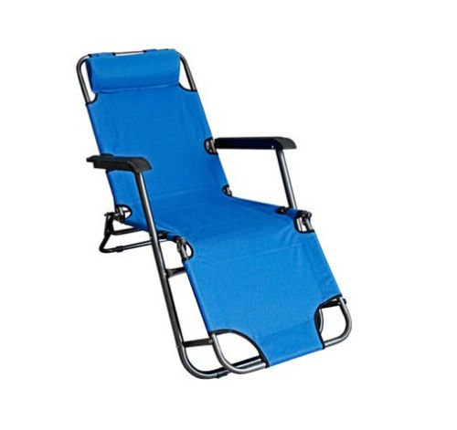 Zgood Folding Chair Sling chair Office Lunch Break Chairs Beach Chairs by ZGood
