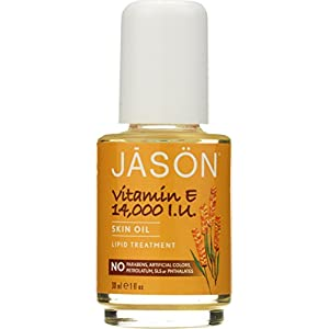 Jason Natural Cosmetics Pure Beauty Oil, 14,000 IU Vitamin E 1fl oz