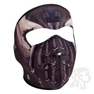 Zan Headgear Full Neoprene Protective Face Mask Pain Cyber Mech Robot Design