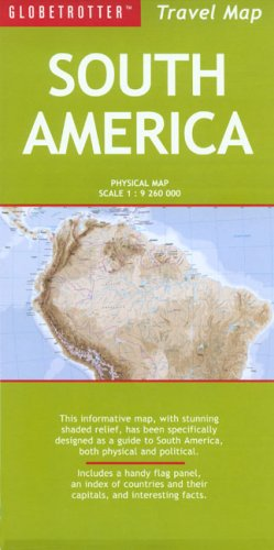 South America Travel Map (Globetrotter Travel Map)