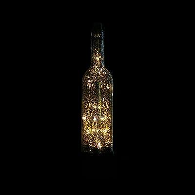 PPG Led Estrella Lámpara de la Botella de Vino Dormitorio ...
