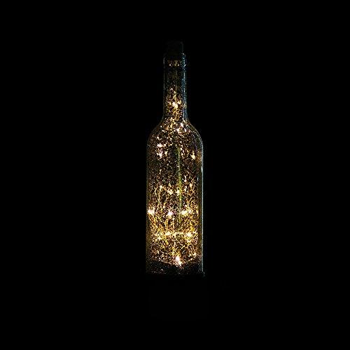 STTS Led Estrella Lámpara de la Botella de Vino Dormitorio Estrella de Noche Bar de la Barra de la Sala de Luz de la Noche...
