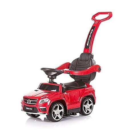 Chipolino GL63 AMG - Cochecito para niño, con mango, diseño de Mercedes Benz, color rojo rosso: Amazon.es: Bebé