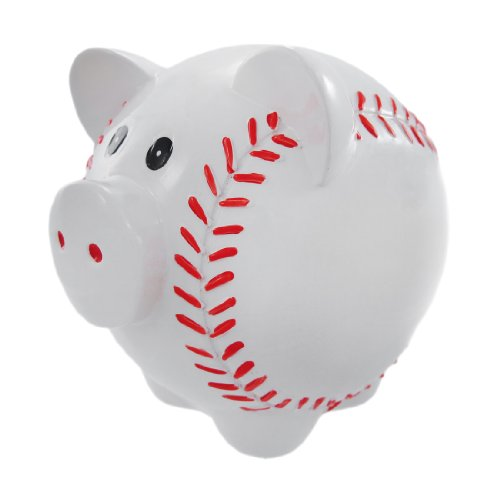 (Piggy Baseball Bank)