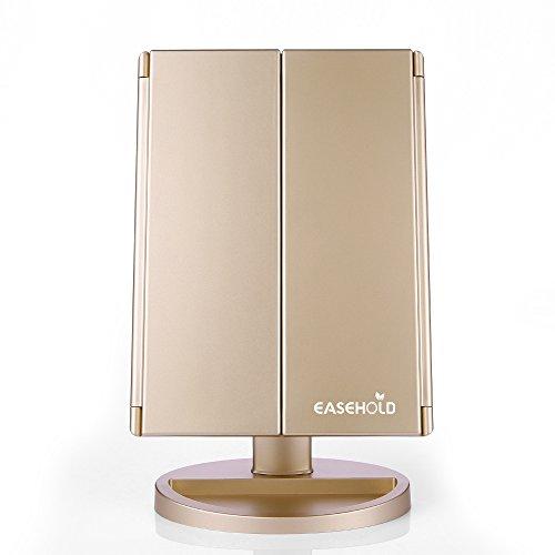 Easehold lighted vanity mirror 2x 3x magnifiers make up - Amazon schminkspiegel ...