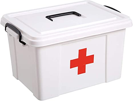 Healifty Caja de Botiquín de Primeros Auxilios Caja de ...