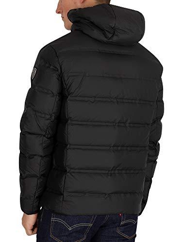 Men's Jacket EA7 Black Black Down aqX1U