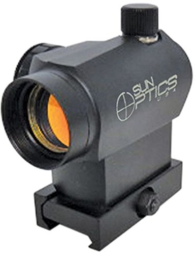 Sun Optics USA CD13-ES004T Micro Sight T-3 Reticle High Mount with Red/Green Reticle