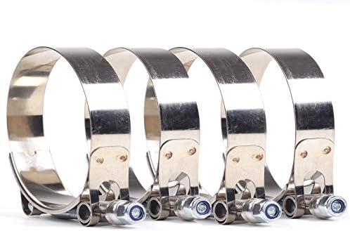 Pro Braking PBK2815-WHT-GOL Front//Rear Braided Brake Line White Hose /& Stainless Gold Banjos