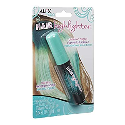 ALEX Spa Hair Highlighter Teal: Toys & Games