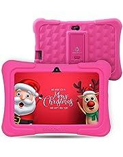 "Dragon Touch Kinder Tablet, Y88X Plus Kindertablet Pad Lerntablet für Kids, Android 8.1 OS 7 ""IPS-Display 1 GB Ram 16 GB Rom Kidoz & Google Play vorinstalliert mit Kid-Proof-Hülle"