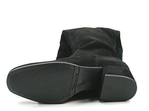 Tamaris 1-25597-39 Schuhe Damen Stiefel Overknee Schwarz
